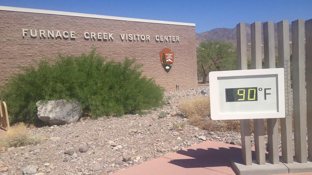 Visitor Center v Údolí smrti