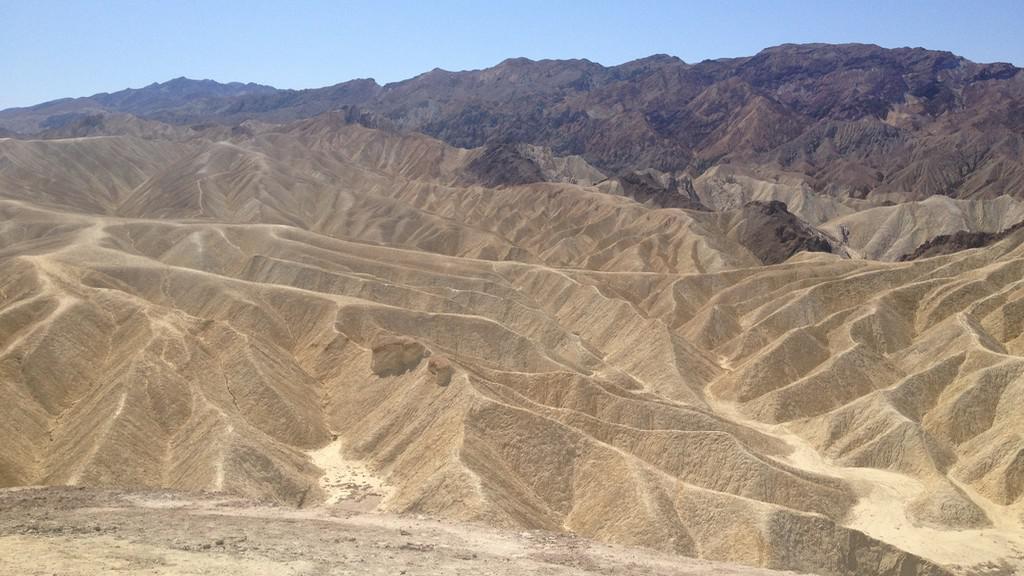 Jedna z tváří Údolí smrti