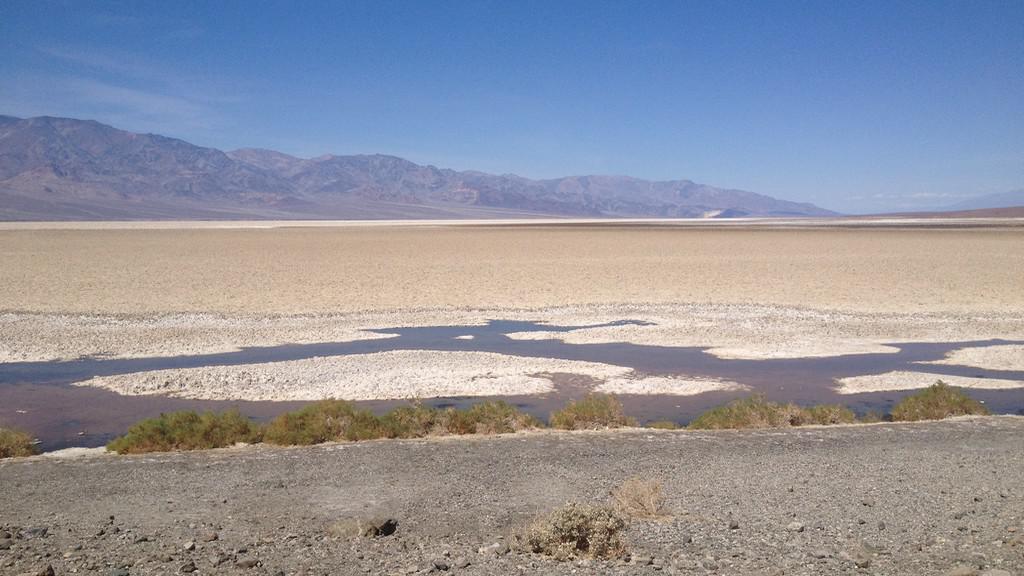 Nejnižší místo Severní Ameriky: Badwater