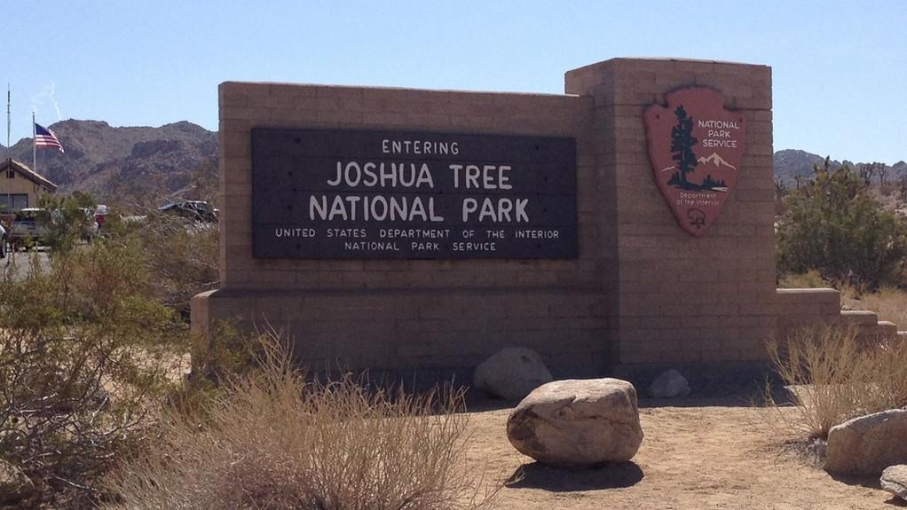 Vstup do N.P. Joshua Tree