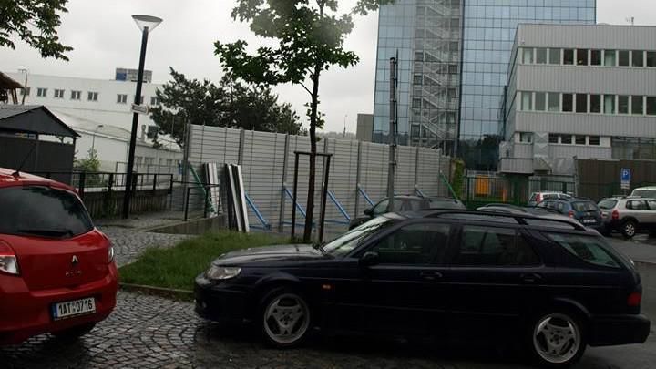 Bariéry v Praze-Holešovicích