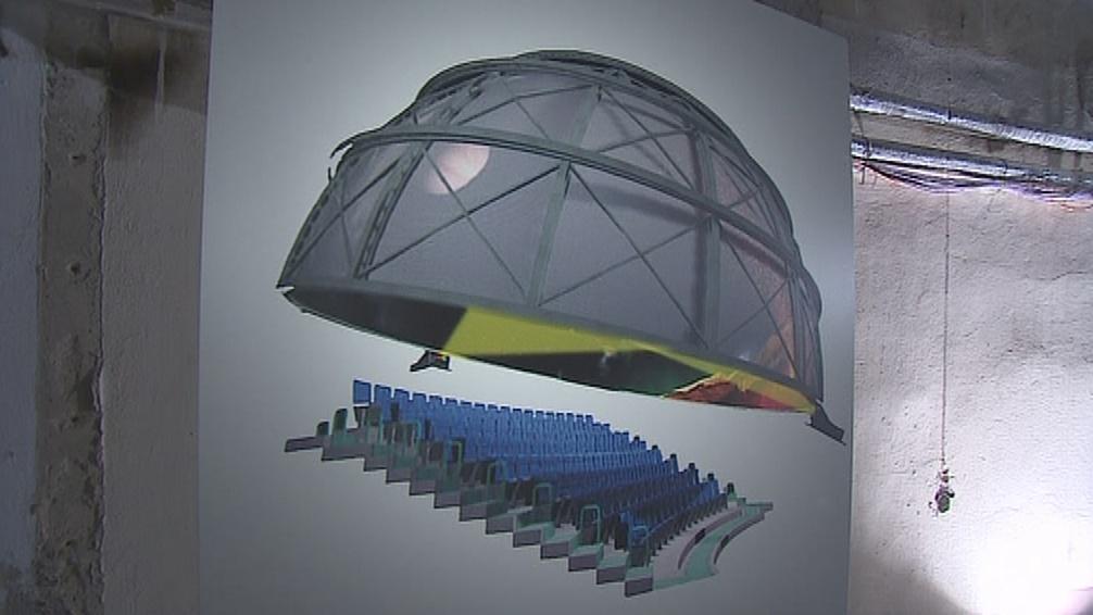 Vizualizace modernizovaného planetária