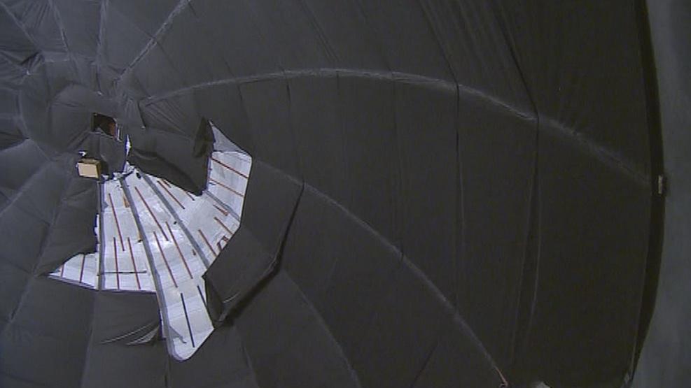 V kupoli planetária bude umístěno obří projekční plátno