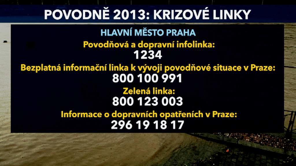 Krizové linky v Praze