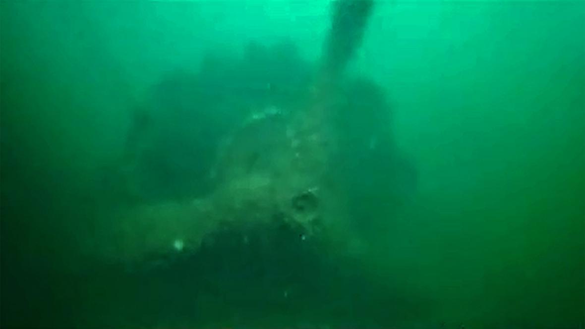 Dornier Do 17 pod vodou