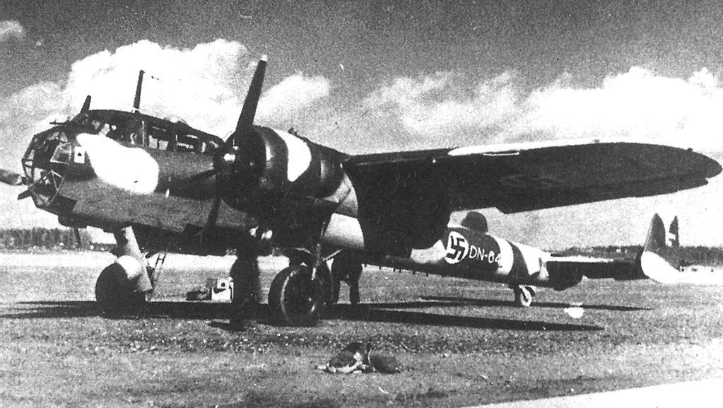 Německý bombardér Dornier 17