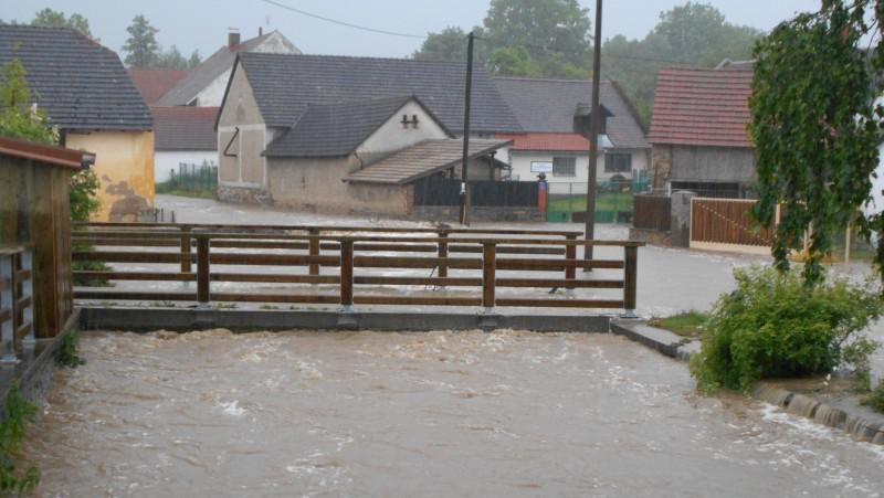 Voda v Kamenici u Sedlčan