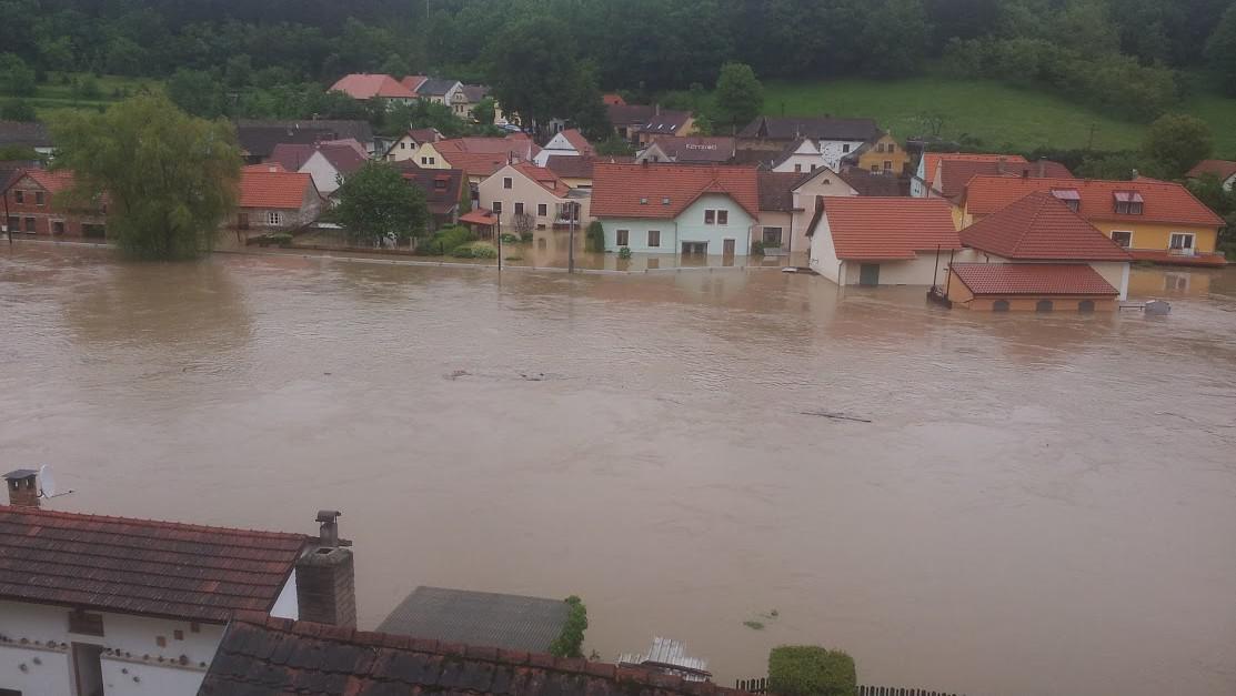Záplavy v Zářečí