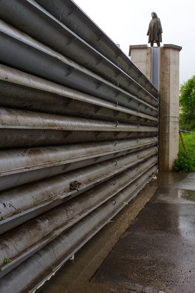 Protipovodňová bariéra Vltava