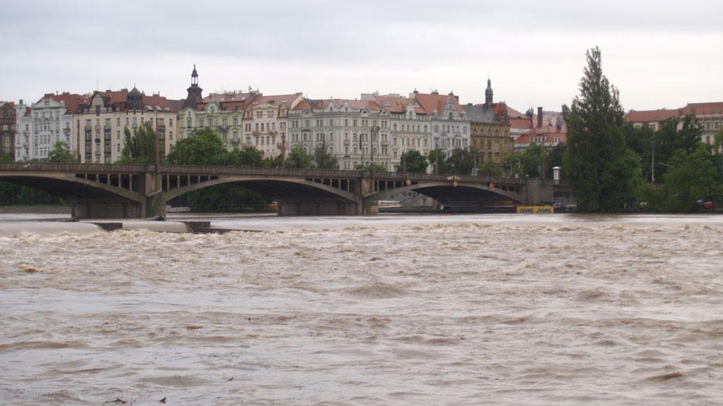 Jiráskův most Praha