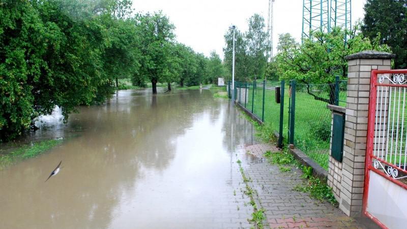 Voda v Praze - Běchovicích