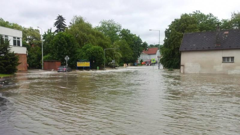 Voda v Praze - Hostivaři
