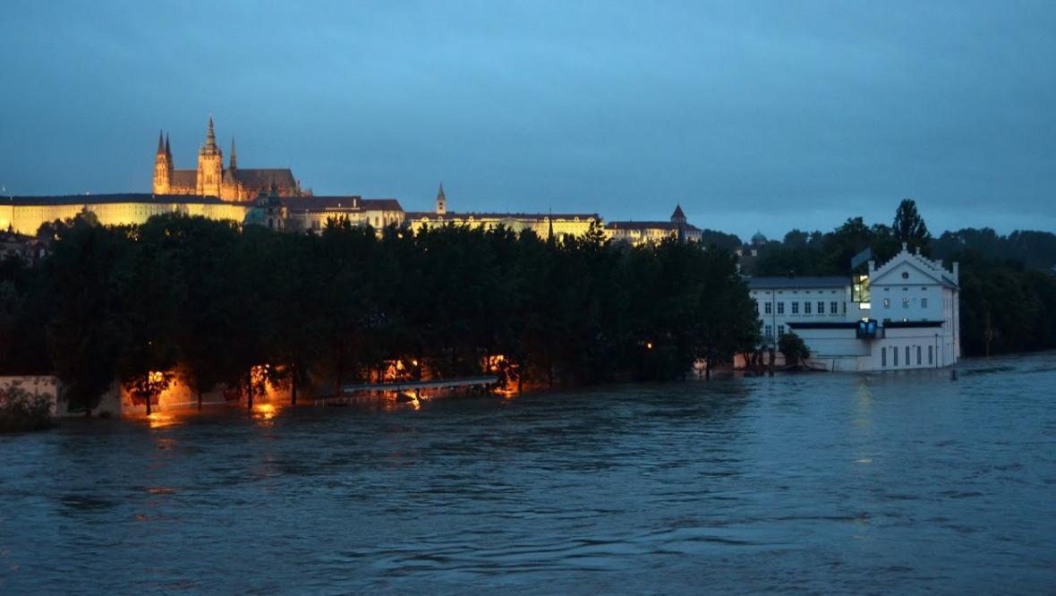 Praha, Kampa