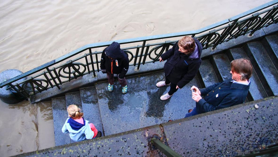 Povodňová turistika v Praze