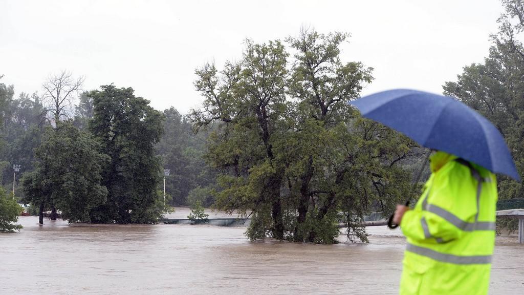 Povodně v Praze-Troji