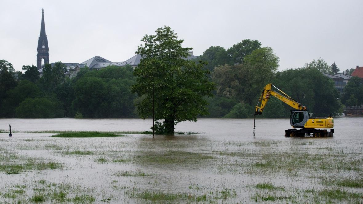 Povodně v Drážďanech