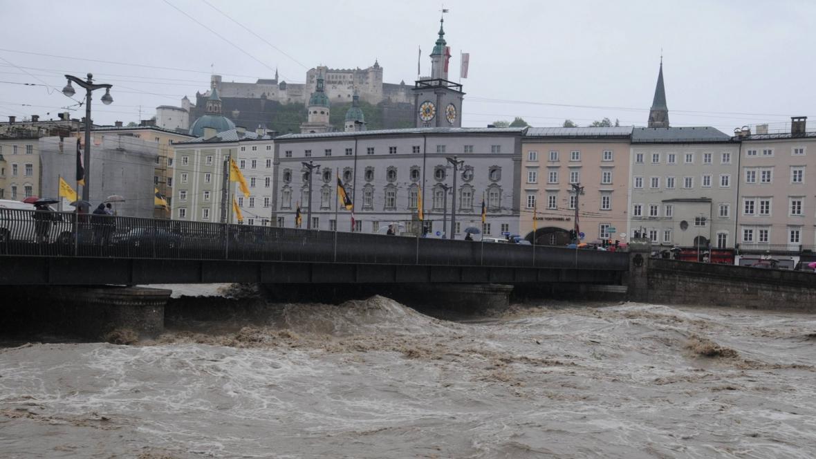 Velká voda v Salcburku