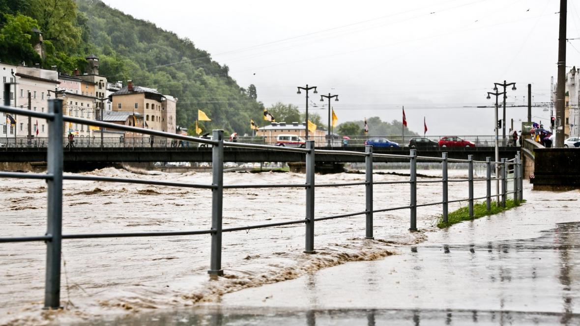 Povodně v Salcburku