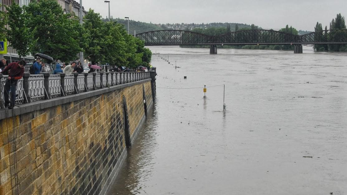 Praha, Železniční most