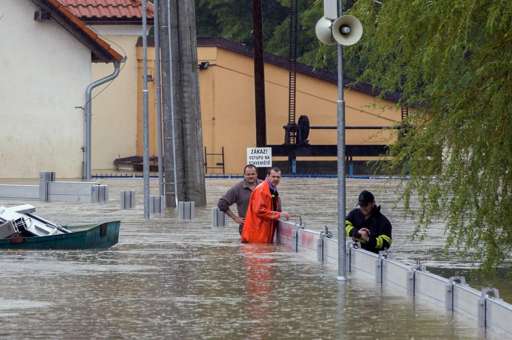 Záplavy Bechyně