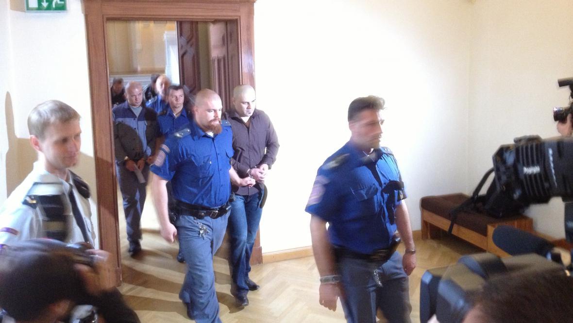 Údajní vrazi Michala Tofla - Radek Sobotka a Tomáš Trkan