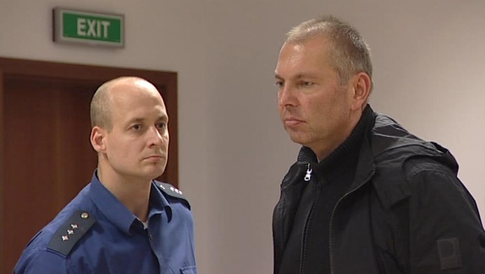 Miloš Almásy před soudem