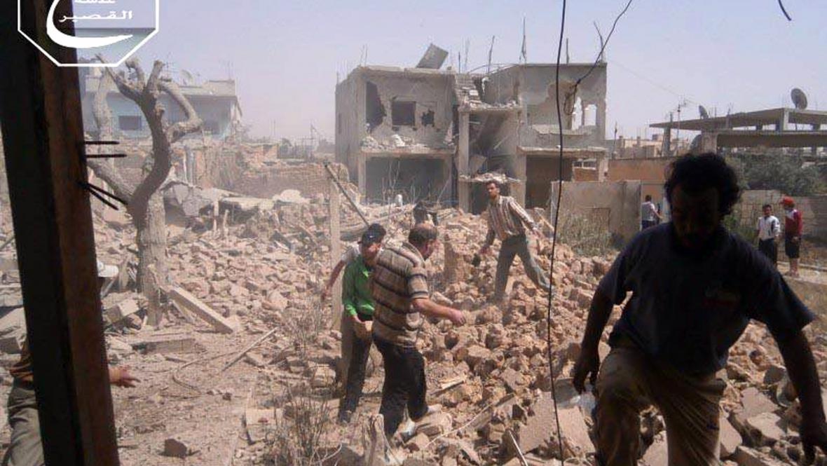 Boje v Kusajru