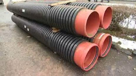 Materiál pro stavbu kanalizace