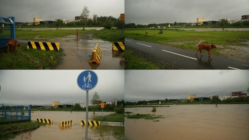 Voda v pražské Velké Chuchli