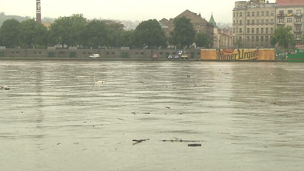 Náplava v Praze