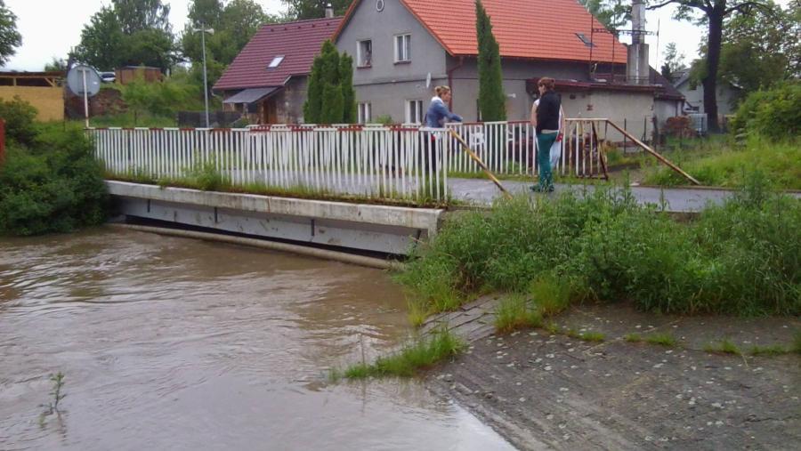 Šporka v Dolní Libchavě (Českolipsko)