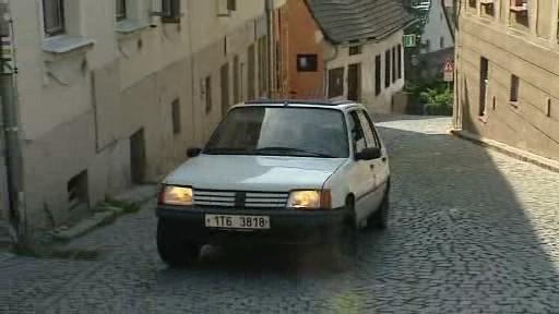 Ulička ve Štramberku