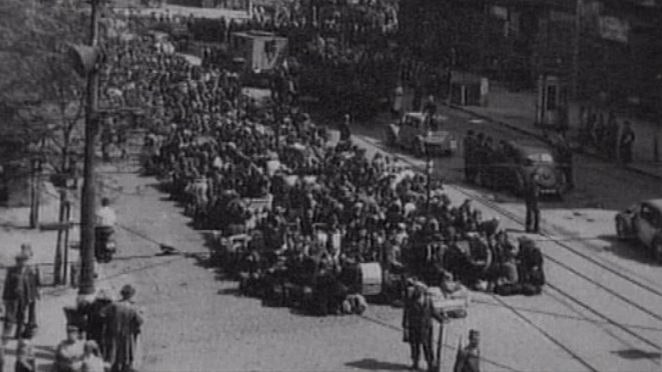 Takzvaný brněnský pochod smrti