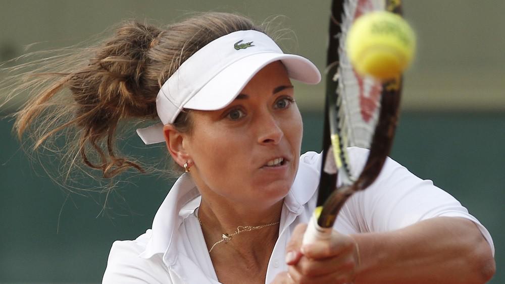Petra Cetkovská na tenisovém Roland Garros