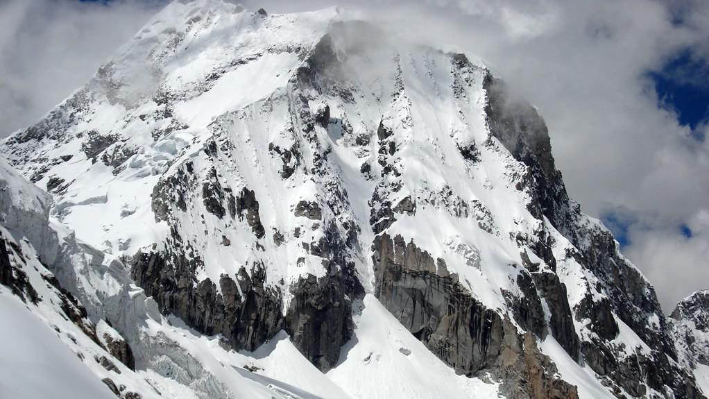 Huascarán - nejvyšší hora Peru