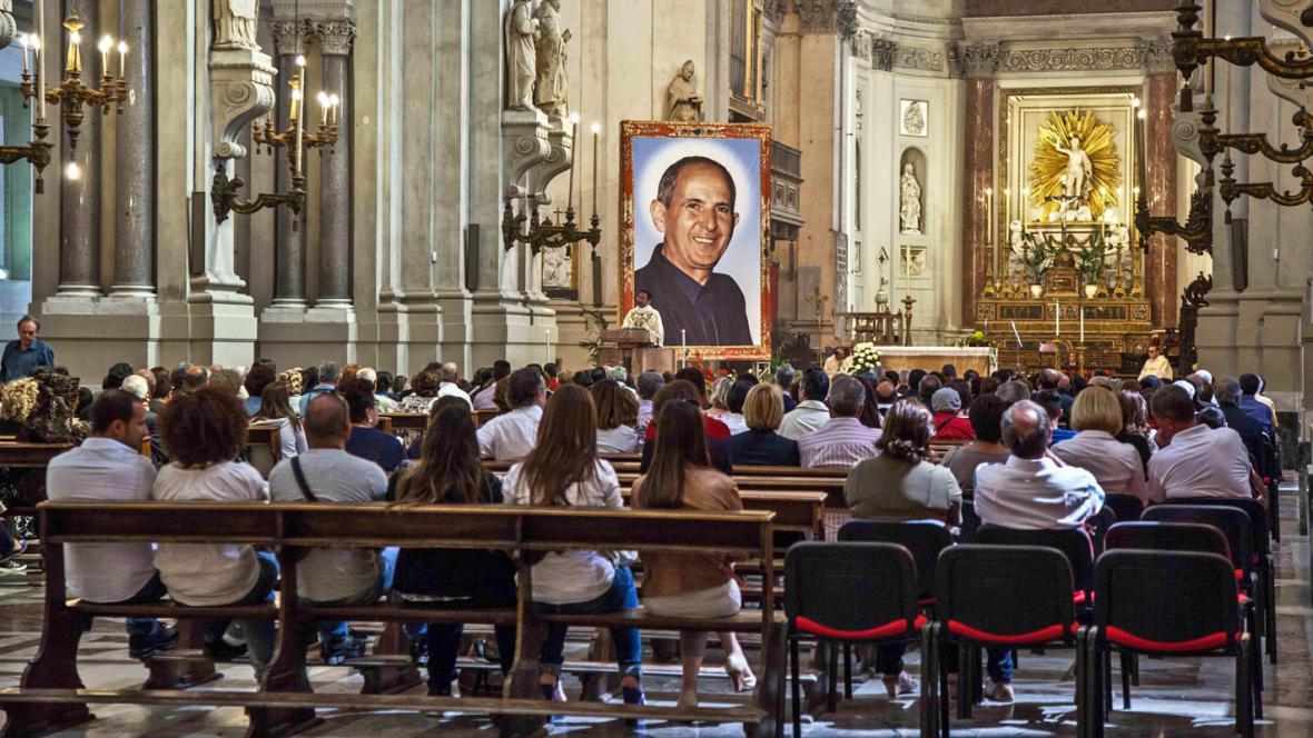 Svatořečení Giuseppe Puglisiho