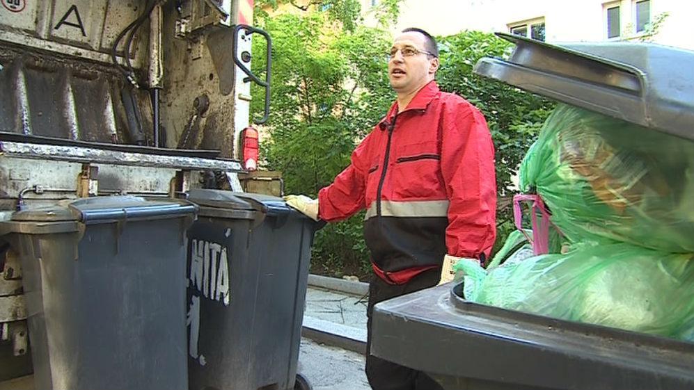 Svoz odpadu je proměnlivá účetní položka