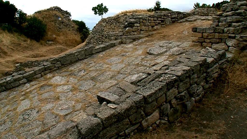 Archeologické naleziště staré Tróje