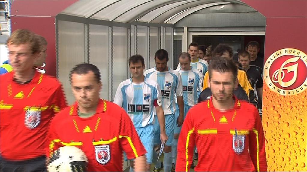 Finále hostil stadion prvoligové Zbrojovky Brno