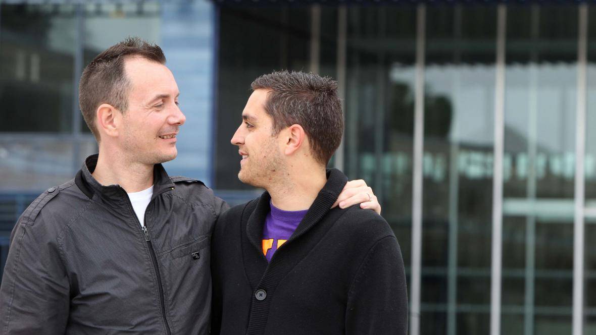 Vincent Autin (vlevo) a Bruno Boileau