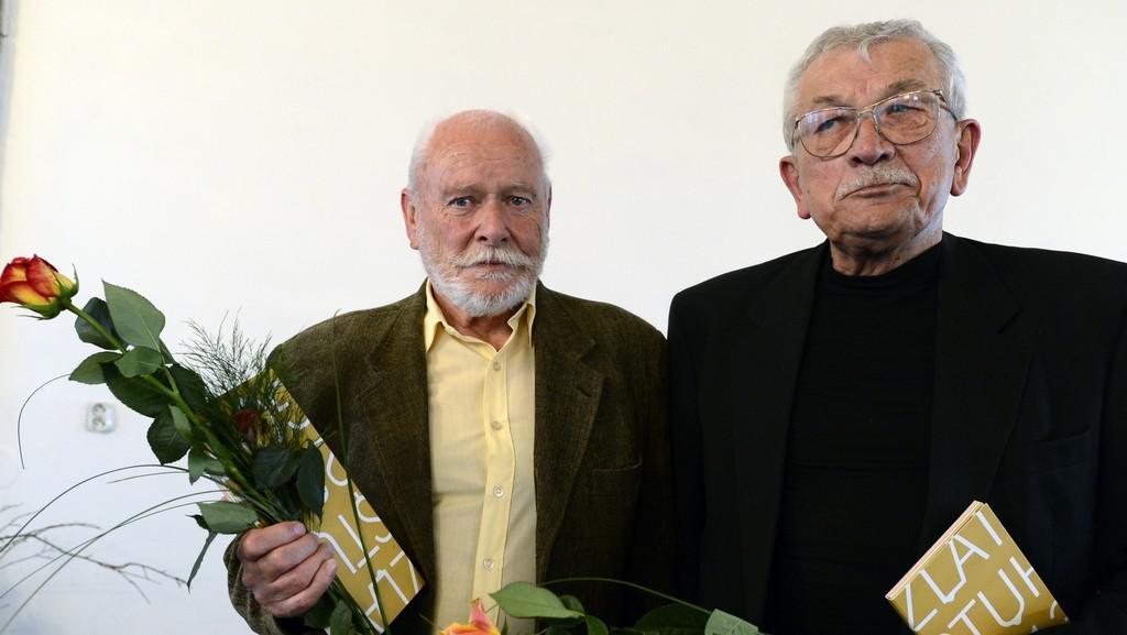 Jiří Kahoun (vlevo) a Karel Šiktanc