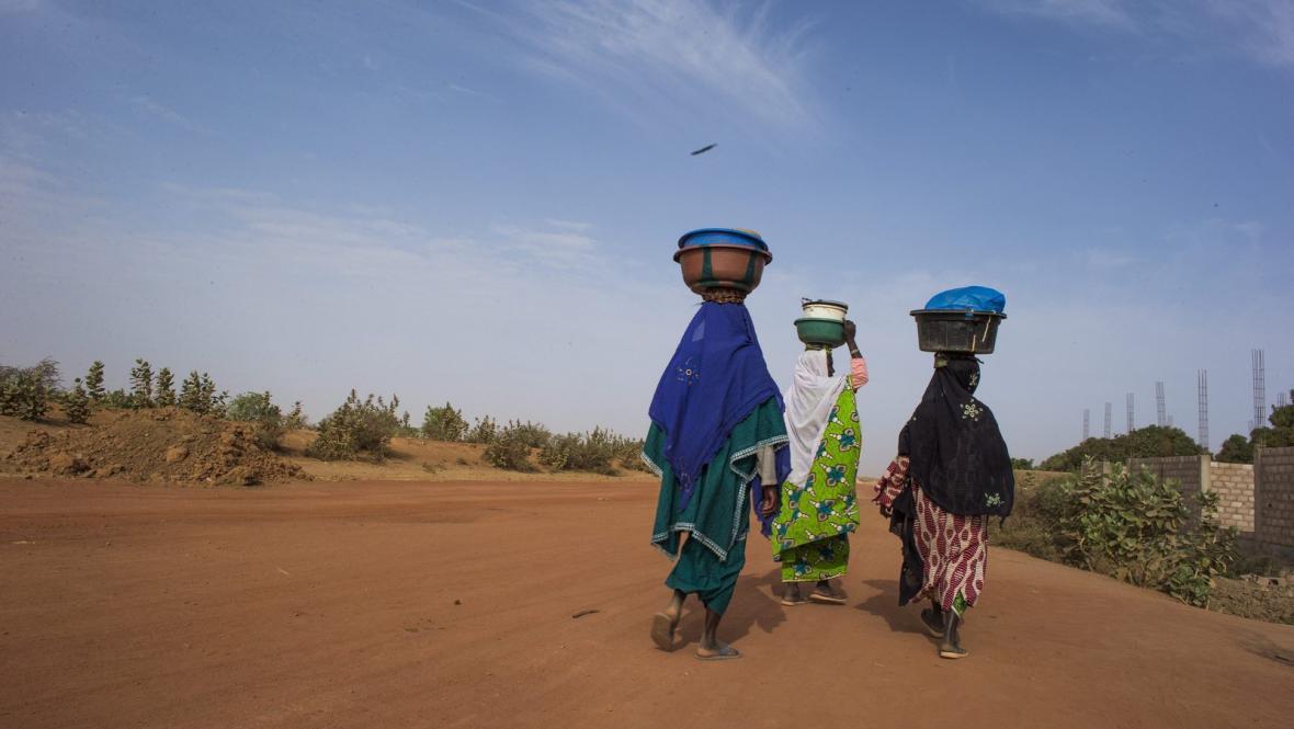 Následky konfliktu v Mali