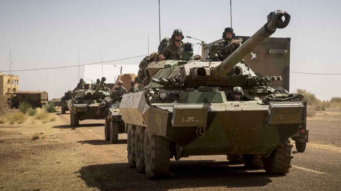 Francouzské jednokty v Mali