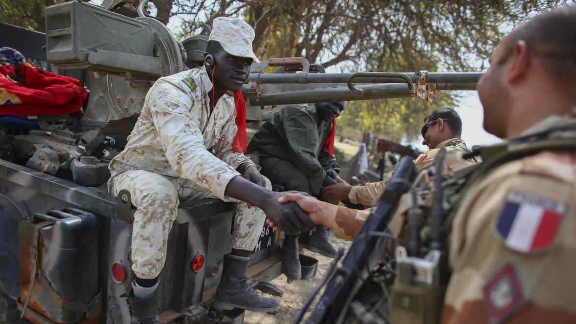Odjezd francouzské armády z Mali