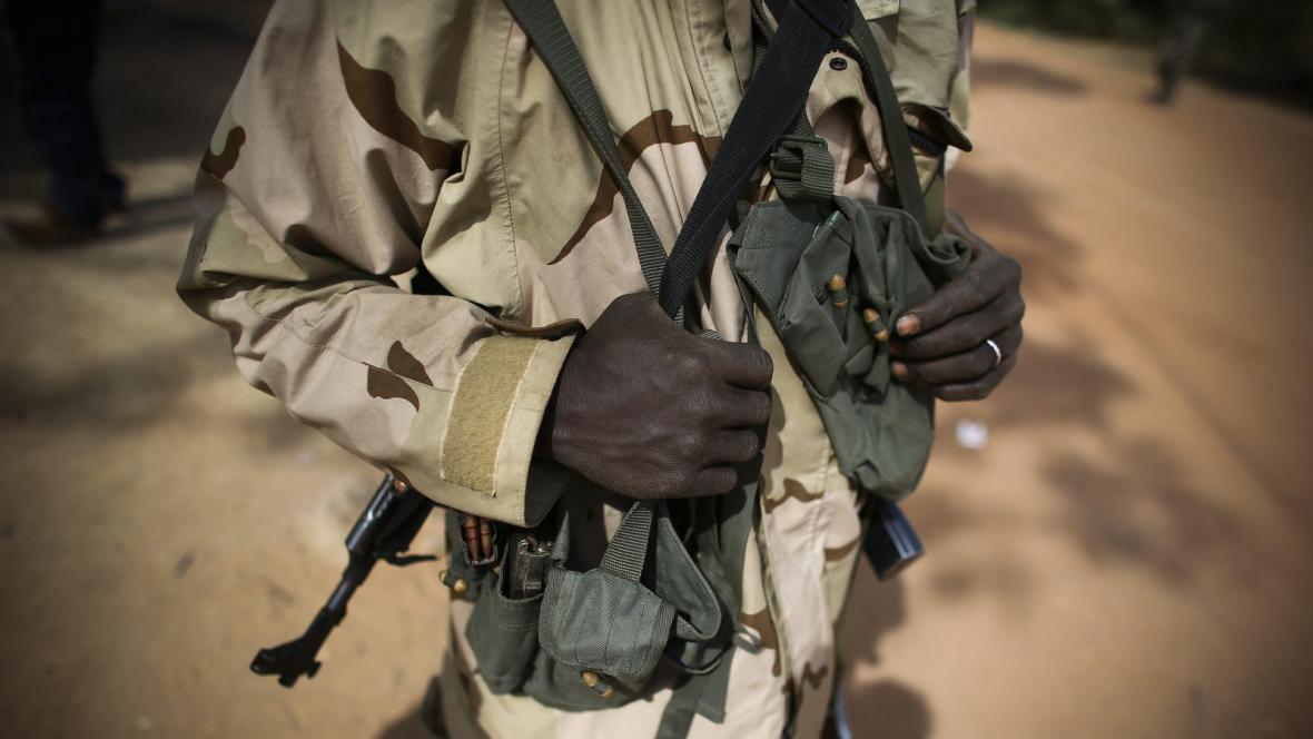 Příslušník malijské armády