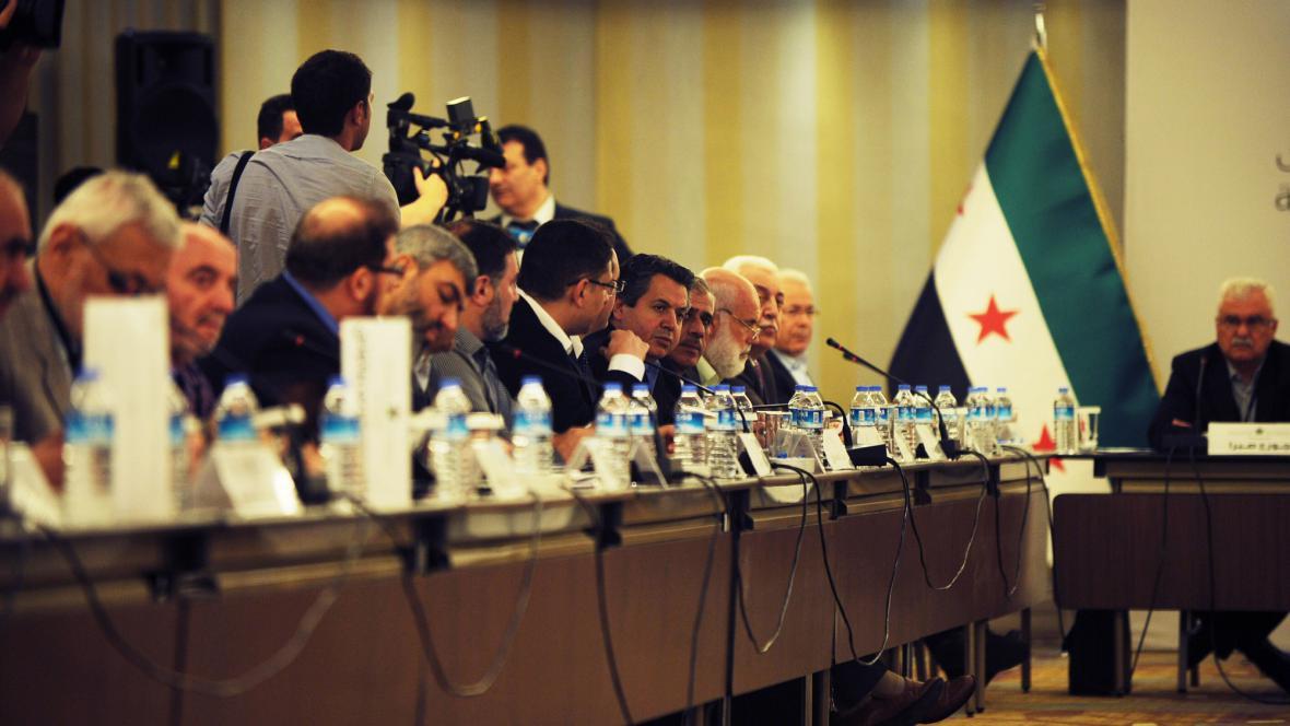 Jednání syrské opozice v Istanbulu