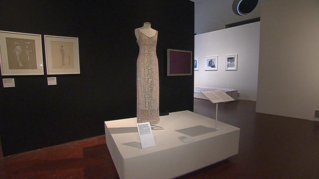 Z výstavy Marilyn