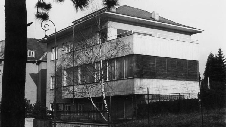 Vlastní vila Václava Dvořáka
