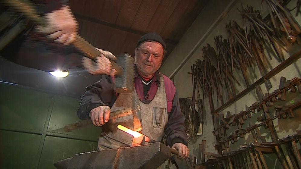 Umělecký kovář Ivo Lorenz