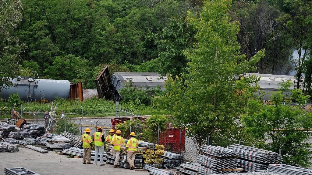 Nehoda vlaku u Baltimoru